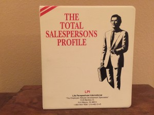 Total Sales Persons Profile